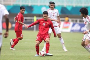 Việt Nam – UAE: Cơ hội tranh ngôi đầu bảng Thái Lan, đội khách phải thắng!