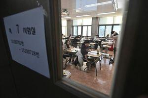 Cả Hàn Quốc 'im lặng' trong ngày hàng trăm ngàn học sinh thi đại học