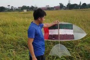 Sáo diều 'thần thánh' bị vứt giữa đồng vì dự đoán UAE thắng Việt Nam