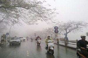 Miền Bắc chuyển mưa rét, Hà Nội nhiệt độ xuống 16 độ C