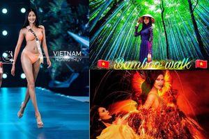 Top 5 lối catwalk đẹp nhất lịch sử Miss Universe: Bamboo Walk của Hoàng Thùy chỉ ngắm thôi cũng nổi da gà