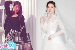 Lan Khuê là 1 trong 5 sao Việt hiếm hoi được mời đến đám cưới của Bảo Thy