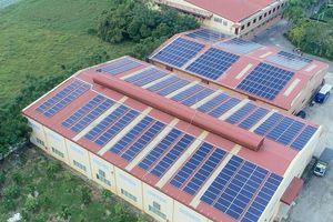 Tự cung cấp hơn 50% nhu cầu điện mỗi năm nhờ đầu tư điện mặt trời áp mái