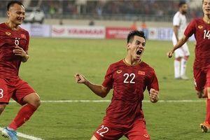 Clip: Siêu phẩm bàn thắng của Tiến Linh vào lưới UAE
