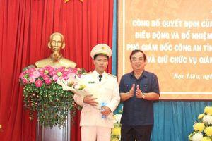 Công an tỉnh Bạc Liêu có Giám đốc mới