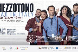 Mezzotono – nhóm nhạc acapella nổi tiếng của nước Ý đến Việt Nam hát 'Hồ Trên Núi'