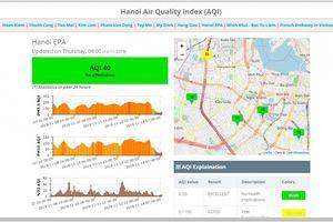 Mưa 2 ngày, không khí ở Hà Nội được cải thiện, ra khỏi top ô nhiễm thế giới