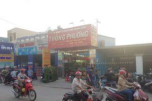 Hai thanh niên nghi nổ súng cướp tiệm vàng táo tợn ở vùng ven Sài Gòn