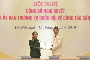 Thiếu tướng Nguyễn Minh Đức giữ chức Phó Chủ nhiệm Ủy ban Quốc phòng và An ninh của Quốc hội