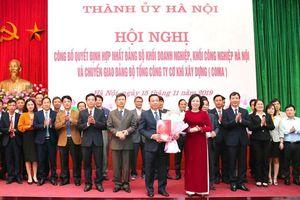 Hà Nội hợp nhất hai Đảng bộ khối