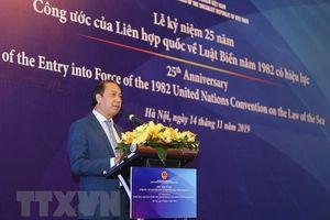 Kỷ niệm 25 năm Công ước Liên hợp quốc về Luật Biển năm 1982 có hiệu lực