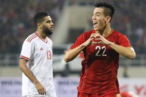 Vòng loại World Cup 2022 khu vực Châu Á: Xuất sắc hạ UAE Việt Nam lên đỉnh bảng