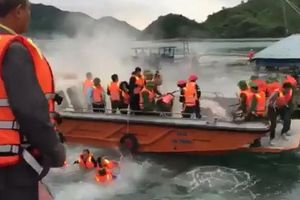 Ném bom xăng đoàn cưỡng chế tại Quảng Ninh: 6 người bị tạm giữ hình sự