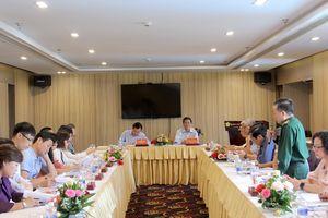 Khảo sát về công tác thông tin đối ngoại và tuyên truyền biển, đảo tại tỉnh Bình Định