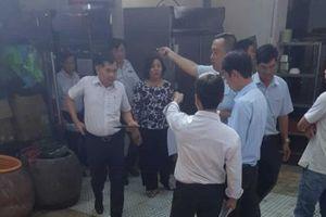 UBKT Thành ủy TP. HCM làm việc với chủ cơ sở Gia Trang Quán - Tràm Chim resort