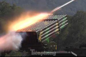 Quân đoàn 1 'phô diễn' sức mạnh ở trường bắn quốc gia