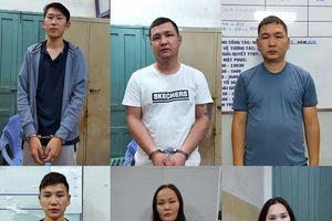 Bắt 6 người Mông Cổ móc túi du khách Nhật ở trung tâm Sài Gòn