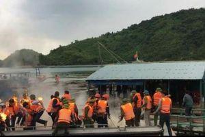 Clip: Các đối tượng cản trở, ném bom xăng vào đoàn cưỡng chế tại Vân Đồn