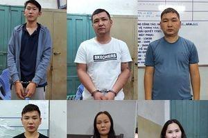 Bắt quả tang nhóm người Mông Cổ móc túi du khách Nhật ở TP.HCM