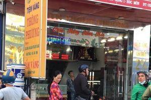 TP.HCM: Truy bắt 2 nghi can nổ súng cướp tiệm vàng ở Hóc Môn