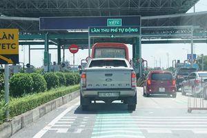 Bộ GTVT nói 'không' về đề xuất trả dự án thu phí không dừng