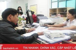 Ngành LĐ-TB&XH Hà Tĩnh giải quyết đúng hạn, trước hạn trên 99,98% hồ sơ