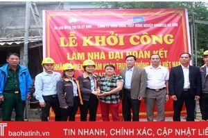 Formosa Hà Tĩnh xây 2 nhà đại đoàn kết cho hộ nghèo xã Kỳ Nam
