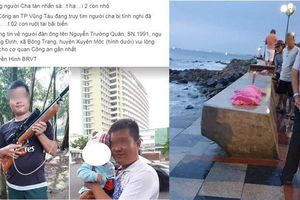 Dân mạng phát tán ảnh, truy lùng ông bố nghi sát hại 2 con nhỏ ở Vũng Tàu