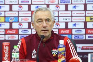 HLV Marwijk: 'UAE không đáng thua Việt Nam, chắc chắn sẽ phục thù'