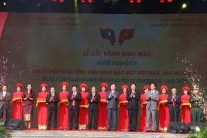 Ngày hội 'Thắm tình hữu nghị đặc biệt Việt Nam – Lào' có nhiều hoạt động