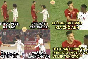 Bật cười với loạt ảnh chế hài hước sau chiến thắng của tuyển Việt Nam trước đội UAE