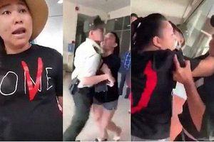 Nữ đại úy 'náo loạn' sân bay Lê Thị Hiền bị khai trừ khỏi Đảng