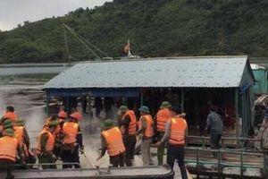 Tạm giữ hình sự các đối tượng ném bom xăng vào đoàn cưỡng chế tại Vân Đồn (Quảng Ninh)