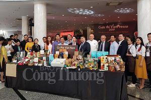 Nâng cao giá trị cà phê Việt qua 'Cuộc thi Vietpresso 2019'