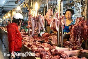 Giá thịt heo bán lẻ tiếp tục tăng