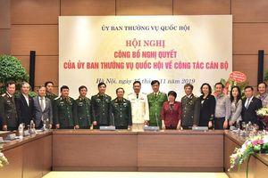 Thiếu tướng Nguyễn Minh Đức giữ chức Phó Chủ nhiệm Ủy ban Quốc phòng và An ninh