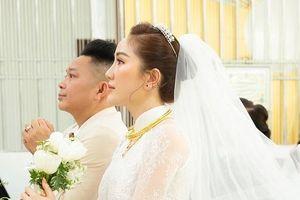Loạt khoảnh khắc đẹp của Bảo Thy và chồng trong lễ cưới