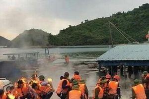 Quảng Ninh: Dân ném bom xăng khiến 3 cán bộ đoàn cưỡng chế bị bỏng