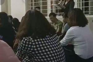 Yêu cầu 'cô giáo kì thị mẹ đơn thân và người nghèo' làm tường trình