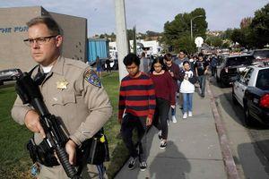 Mỹ: Xả súng tại trường học gây nhiều thương vong