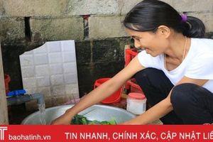 Phấn đấu 98,7% người dân nông thôn Hà Tĩnh được dùng nước sạch