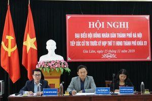 Cử tri huyện Gia Lâm kiến nghị nhiều vấn đề dân sinh và chính sách đáng quan tâm