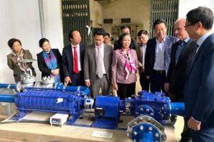 Trạm bơm nước không dùng điện trên Cao nguyên đá Đồng Văn đi vào hoạt động
