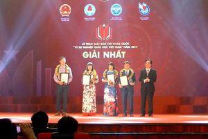Trao Giải báo chí 'Vì sự nghiệp Giáo dục Việt Nam' năm 2019, phát động Giải năm 2020