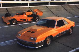 Ford và McLaren từng hợp tác để sản xuất Ford Mustang
