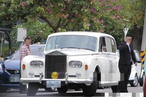 Dàn xe Rolls-Royce, Bentley trong lễ cưới Lâm Chí Linh