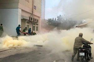 Cháy lớn giả định tại nhà No2, phường Láng Thượng (quận Đống Đa)