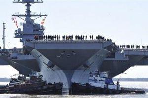 Economist: Tàu sân bay Mỹ là sai lầm tư duy quân sự