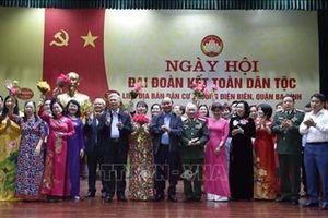 Lãnh đạo Đảng, Nhà nước, Mặt trận Tổ quốc Việt Nam tham dự Ngày hội Đại đoàn kết toàn dân tộc
