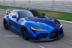 Toyota Supra 2020 gây ấn tượng với gói độ Ekanno Racing